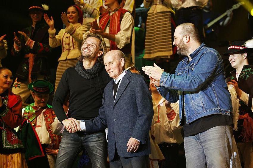 Štefan Nosáľ, Ján Ďurovčík a Ivan Tásler.